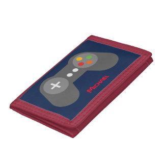 Regulador azul del videojuego