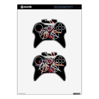 """Regulador de la radio de XBOX 360 del """"arco iris e Mando Xbox 360 Calcomanía"""