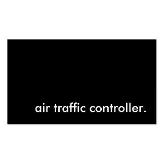 regulador de tráfico aéreo plantillas de tarjetas de visita