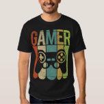 Regulador del juego del videojugador playeras