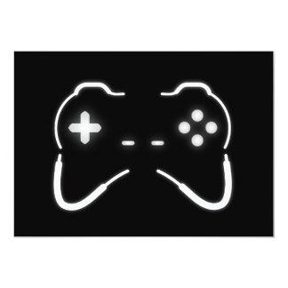 """Regulador del juego invitación 5"""" x 7"""""""