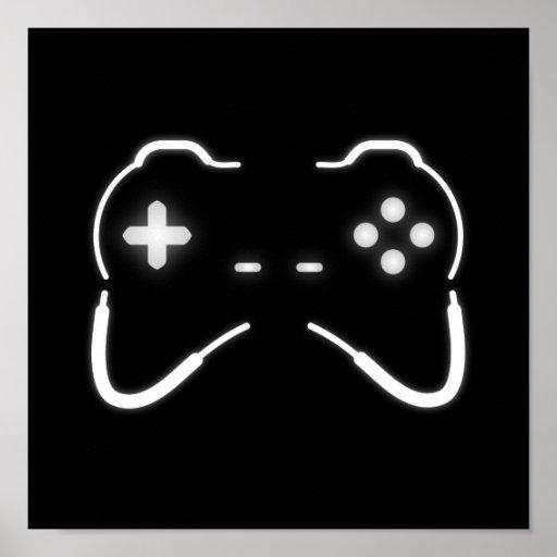 Regulador del juego poster