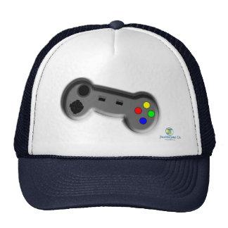 Regulador del videojuego gorros bordados