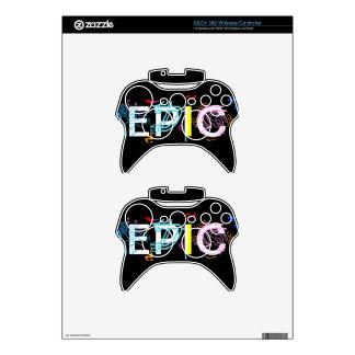 """Regulador """"épico"""" de la radio de XBOX 360 Mando Xbox 360 Calcomanía"""
