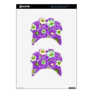 ¡Regulador inalámbrico w/Stars de XBOX 360 y flore Mando Xbox 360 Skin
