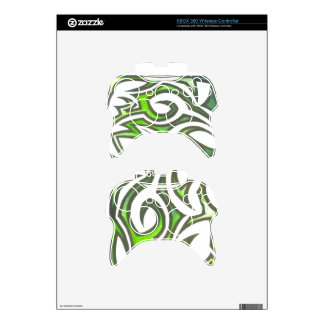 Regulador Verde-Amarillo Mando Xbox 360 Calcomanía