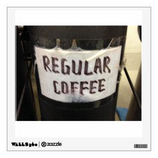 Regular Coffee Wall Decal
