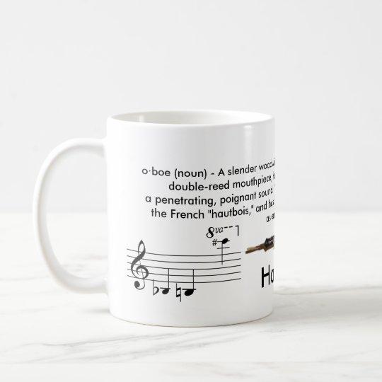 Regular Sized 11 Oz Oboe Mug