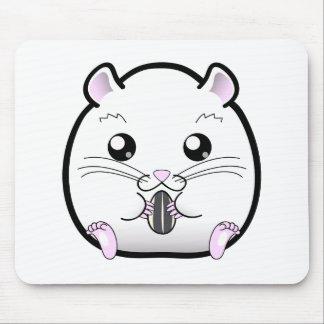 Regular Syrian Orange White Hamster Mouse Pad