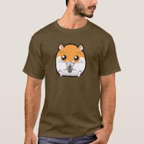 Regular Syrian Orange White Hamster T-Shirt