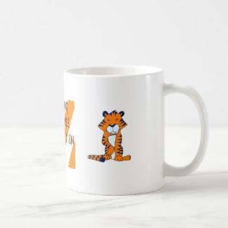 Regular Tiger Mug, cartoon_tiger_st6 Coffee Mug
