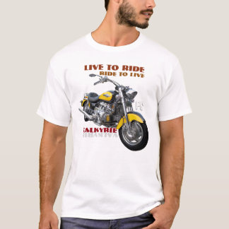 Regular Valkyrie motorcycle design T-Shirt