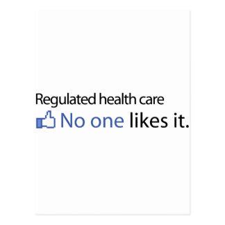 Regulated Health care Postcard