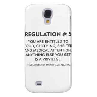 Regulation # 5 galaxy s4 cover