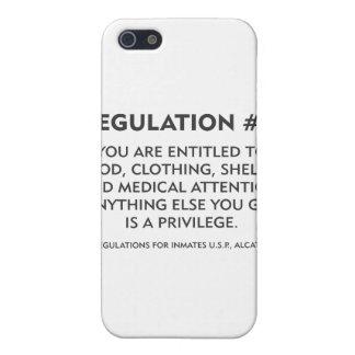 Regulation # 5 case for iPhone SE/5/5s