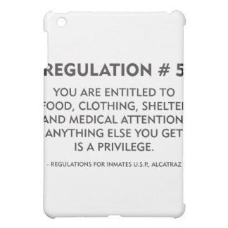 Regulation 5 case for the iPad mini