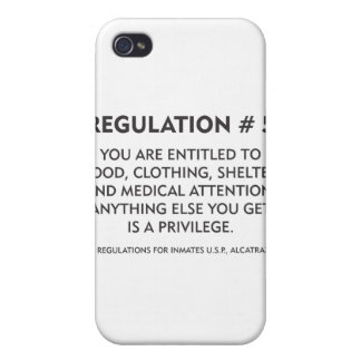 Regulation # 5 iPhone 4 covers