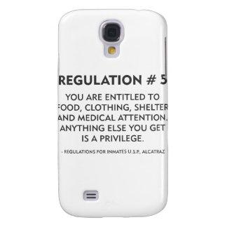 Regulation # 5 samsung galaxy s4 case