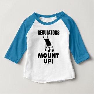 Regulators Mount Up funny baby shirt