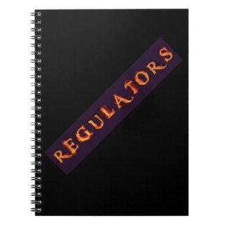 Regulators Spiral NotebookLogo Notebook