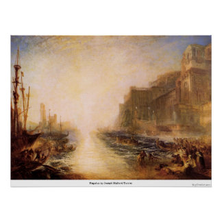 Regulus by Joseph Mallord Turner Poster