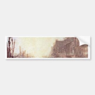 Regulus Sets Off From Rome By Turner Joseph Mallo Bumper Sticker