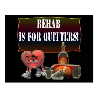 Rehab Beer T-shirts Gifts Postcard