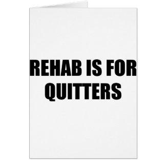 rehab card