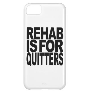 Rehab Is For Quitters Cover For iPhone 5C