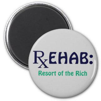 Rehabilitación: Centro turístico de los ricos Imán Redondo 5 Cm