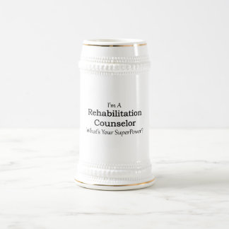Rehabilitation Counselor Beer Stein