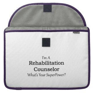 Rehabilitation Counselor Sleeve For MacBooks
