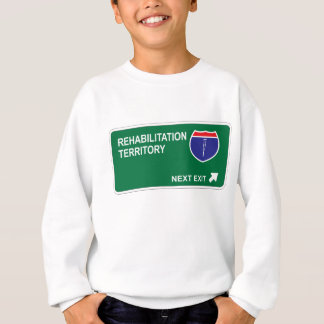 Rehabilitation Next Exit Sweatshirt