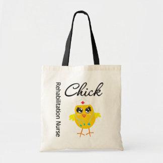 Rehabilitation Nurse Chick v1 Tote Bags