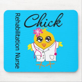 Rehabilitation Nurse Chick v2 Mouse Pad