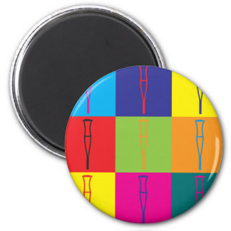 Rehabilitation Pop Art Magnet
