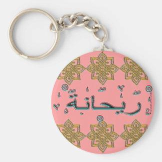 Rehanna Rihanna arabic names Keychain