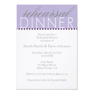 Rehearsal Dinner (for Jamie) Card