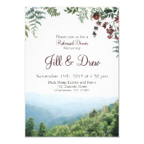 Rehearsal Dinner Invitation - Fall Wedding