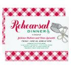 Rehearsal Dinner Invitation | Italian Food
