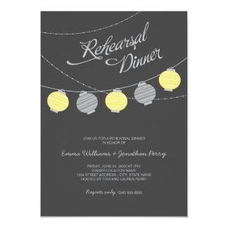 Rehearsal Dinner Invitation | Paper Lanterns