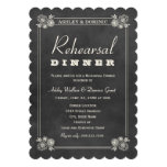 Rehearsal Dinner Invitations   Black Chalkboard