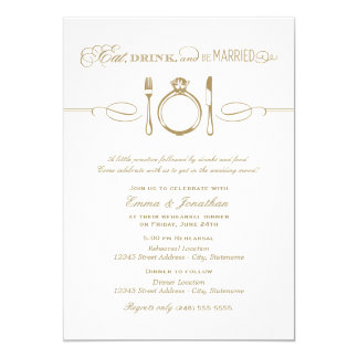 """Rehearsal Dinner Invite 