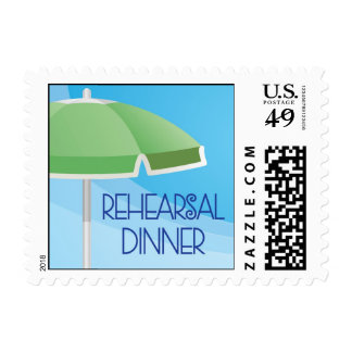 Rehearsal Dinner Pool Party Stamp