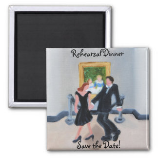 Rehearsal Dinner Save the Date Magnet