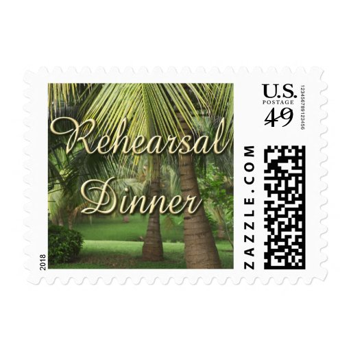 Rehearsal Dinner stamps