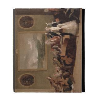 Rehearsal of an Opera, c.1709 (oil on canvas) 2 iPad Cases