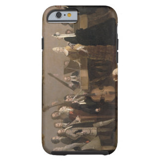 Rehearsal of an Opera, c.1709 (oil on canvas) Tough iPhone 6 Case