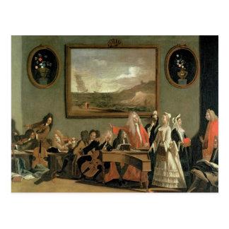 Rehearsal of an Opera Postcard