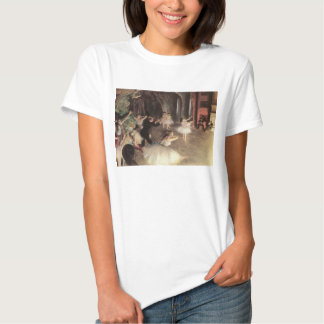 Rehearsal on the Stage by Edgar Degas T Shirt